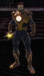 Orange Lantern Hal Jordan (DC Universe Online) by VexylGraphics
