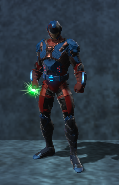 The Atom Cw Dc Universe Online By Vexylgraphics On Deviantart