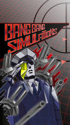 Bang Bang Simulations Gashat Art by VexylGraphics