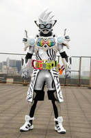 Kamen Rider Ex-Aid Mighty Creator VRX Re-Design by VexylGraphics