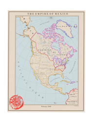 The Empire of Mexico, 1848 by theaidanman