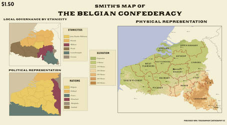 The Belgian Confederacy, 1890 by theaidanman