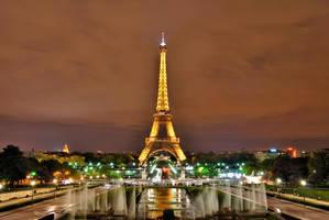 Eiffel Tower I by CyrilRoussy