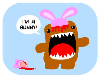 my first domo art by petipoa