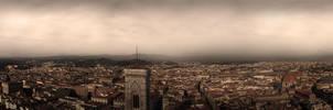 Fog over Florence by aajohan