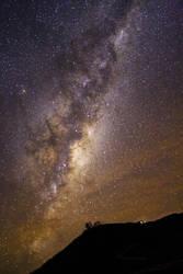 The great Milky Way by astrofireball