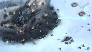 Planetside 2 Alien Wreckage by DougFlinders