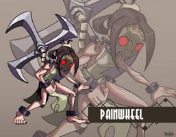Skullgirls: Painwheel by Kisetsukaze