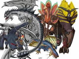 monstrous clutter 1 by LynxKano