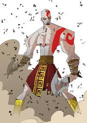 Kratos - God Of War by J0N-Lankry