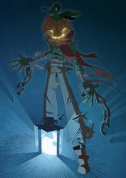 Jack O'Lantern - Halloween 2013 by J0N-Lankry