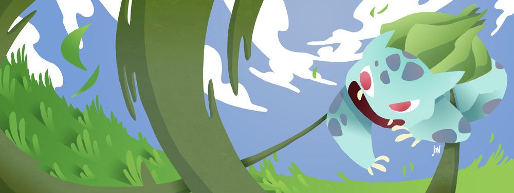 Bulbasaur by J0N-Lankry