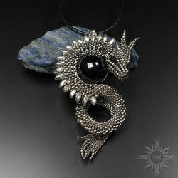 Avness dragon pendant by Sol89