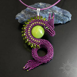 Idryss dragon pendant by Sol89