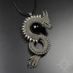 Sulbarum dragon pendant by Sol89