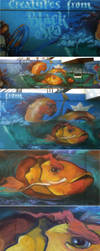 Sea Creatures by flakyou