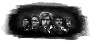 The Barricade Boys by JazzySatinDoll