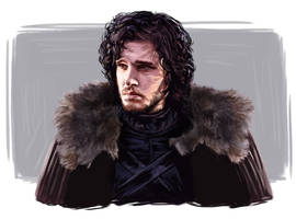 Jon Snow by JazzySatinDoll