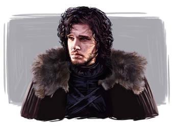 Jon Snow by JazzySatinDoll