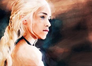 Daenerys Stormborn by JazzySatinDoll