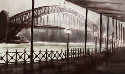Sydney Harbour by JazzySatinDoll
