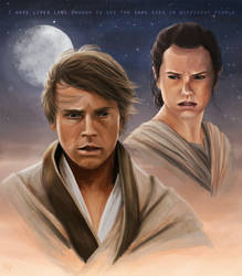 Star Wars - Old Eyes by JazzySatinDoll