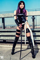 Psylocke by PamelaColnaghi
