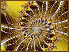 Sunflower Spiral by Ksm17