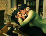 The Dark Lord's Study (Bellatrix/Tom Riddle) by deslea