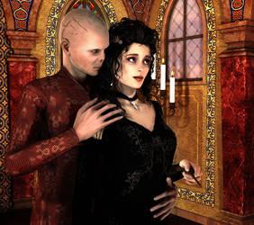 Devil On My Shoulder (Bellatrix/Voldemort) by deslea