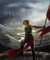 Awaiting War by Saska-Ithiur