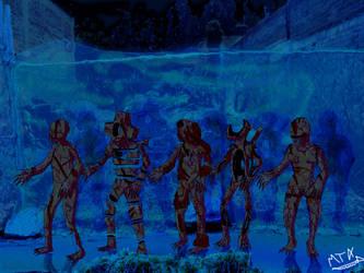 ice-world raw shocks by Weird-eye