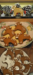 Gingerbread Evoloons by Zwaa