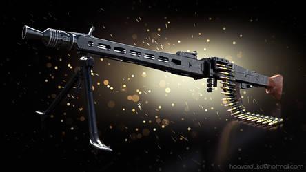 Maschinengewehr 42 by MrHeinzelnisse