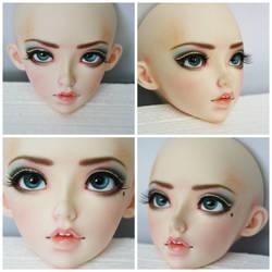 Faceup Feeple60 Celine by PlagueBearerBJD