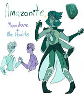 SU- Amazonite Fusion!! by IrishAly