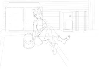 Homelessgirl by Viicttoriia
