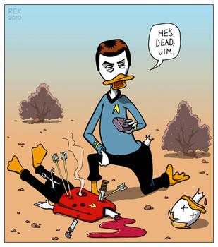 044: Leonard 'Quacks' McCoy by dunwich7