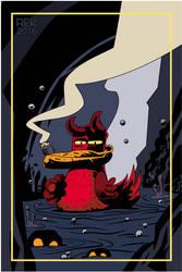 064: HellDuck by dunwich7