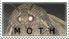 Moth Stamp by CottonCandyKiwi