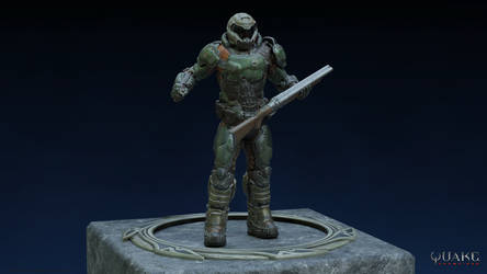 DOOM Slayer by TheDOOMMan