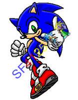 Sonic - Sonic Rush Pose by SonicDBZFan4125