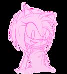 Amy Rose sketch by SonicDBZFan4125