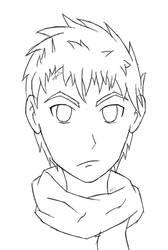 a sketch for a friendo ~ Cypher by SonicDBZFan4125