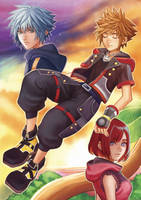 Kingdom Hearts III by Fishiebug