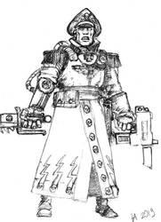 Comissar Warhammer 40000 by AndgIl