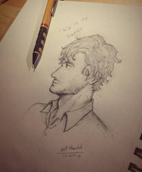 Will Graham  by sqoodio
