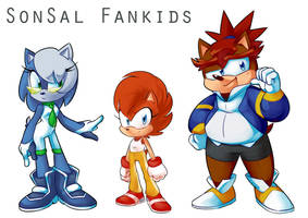 Dumpy SonSal Fankids by SimonSoys