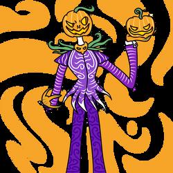 Halloween Deviant - Jack O'Lantern by euamodeus