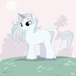 My little last unicorn by dragon-chan